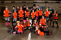 Seattle Derby Brats Tootsy Rollers — Orange Crush