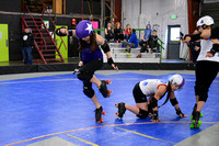 Rose City Rosebuds vs. I-5 Rollergirls.
