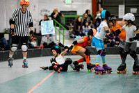 Turquoise Terrors vs. Orange Crush