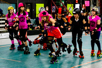 Poison Skid'les vs. Evil Angels.
