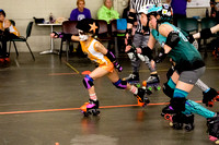 Orange Crush vs. Turquoise Terrors