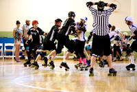 Game 3: New York Shock Exchange vs. Mass Maelstrom Roller Derby