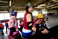 Tilted Thunder Rail Peeps vs. Rose City Rosebuds