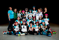 Seattle Derby Brats - Turquoise Terrors