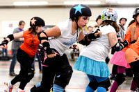 Seattle Derby Brats - Friends and Family Bouts - February 2016