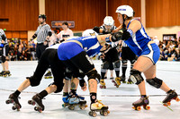 Victorian Roller Derby League vs. B.ay A.rea. D.erby