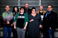 Rat City Roller Derby Season 14 Announcers and Stream Team