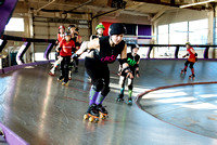 Tilted Thunder Rail Peeps Scrimmage 2013-12-07