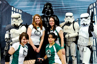 Rat City Rollergirls hanging with the Empire