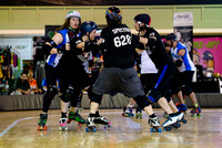 Game 9: Southern Discomfort Roller Derby vs. Denton County Outla