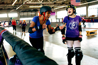 Tilted Thunder Rail Birds Flight School Scrimmage 2014-05-23