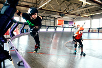 Tilted Thunder Rail Peeps Scrimmage 2014-04-26