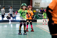 The Littles Flag Roller Derby Exhibition Bout.