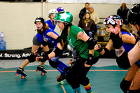 Mighty Rollers vs. Toxic AvengHers.
