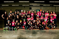 Seattle Derby Brats Evil Angels and Poison Skid'les