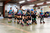 Seattle Derby Brats Galaxy Girls vs. Inland NW Pixies.
