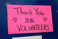 Thank you JCRG Volunteers