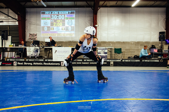 Jet City Rollergirls - Season 7, Bout 4