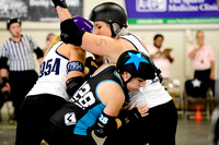 Denver Roller Derby Bruising Altitude vs. Philly Roller Derby Independence Dolls