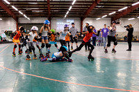 Seattle Derby Brats -  Friends and Family Bouts - November 2017