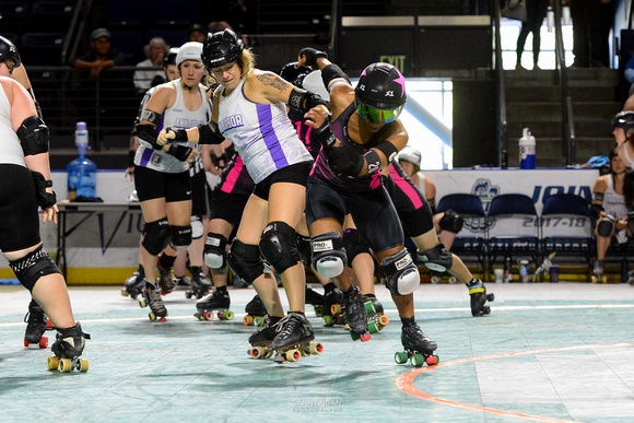 Game 1: Tampa Roller Derby vs. Ann Arbor Derby Dimes