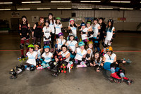 Seattle Derby Brats Tootsy Rollers — Turquoise Terrors