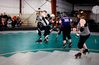 SDB Ultra Violets vs. NWO Honey Badgers.