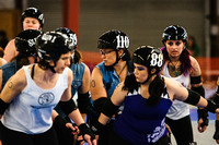 Jet City Rollergirls - Season 8, Bout 3