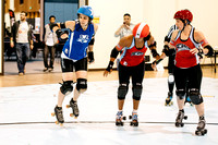 Victorian Roller Derby vs. Atlanta Roller Girls